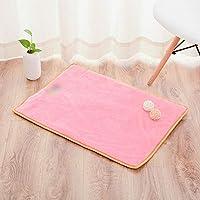 LilyAngel 多機能折りたたみ式携帯用ペット犬用マットペット用マット (色 : ピンク, サイズ : S)