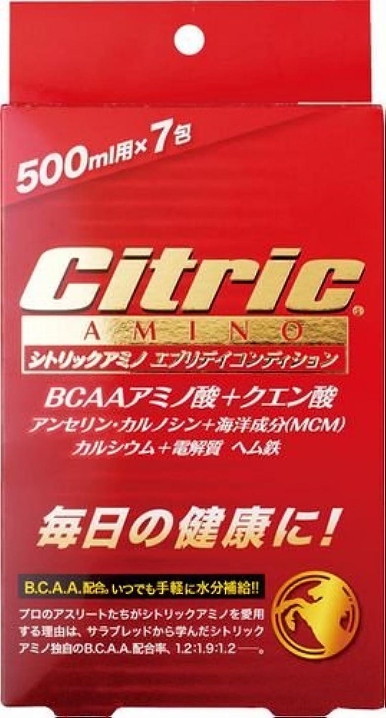 管理者軍団才能のあるシトリックアミノ(Citric AMINO) (美容と健康) エブリディコンディション 6g×7包入 すっきりフレッシュオレンジ味  8140