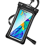 TSUNEO iPhone/Android対応防水ケース IPX8 Face ID対応 ブラック