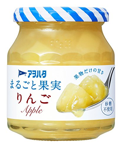 アヲハタ まるごと果実 りんご 250g 1セット(3個)