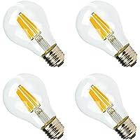 LED電球 e26 ナチュラルホワイト ボール型 100W形相当 1000lm フィラメント電球 シャンデリア エジソンランプ 和室 玄関 食卓照明 4個セット
