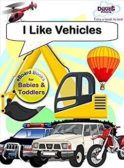 I Like Vehicles (I Like Reading) by [Publishing, Duvet]