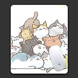 Aviva-Amanda マウスパッド ユニークなデザイン たくさんの猫 キュート オカスタマイズ 光学式対応 モダン(プレゼント付き)