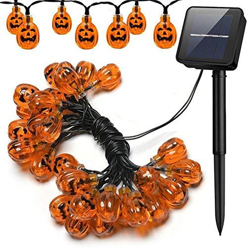 Pursue ledライト カボチャライト ソーラー充電 パンプキンライト ハロウィン電飾 飾りライ...