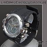 OHSEN 腕時計 スポーツウォッチ 30M防水 ブラック BBB-AD0721-4[並行輸入品]