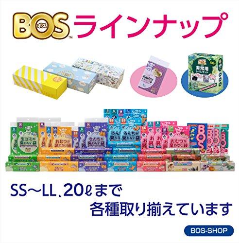 『驚異の防臭袋 BOS (ボス) 非常用 トイレ セット【凝固剤、汚物袋、BOSの3点セット ※防臭袋BOSのセットはこのシリーズだけ!】 (5回分)』の8枚目の画像