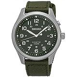 セイコー SEIKO キネティック クオーツ メンズ 腕時計 SKA725P1 カーキ 腕時計 海外インポー [並行輸入品]