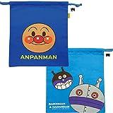 【アンパンマン】ANY-850 お着替え巾着(ブルー) 011506