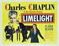 Limelight映画ポスター( 30x 40インチ–77cm x 102cm ( 1952)–( Charlie Chaplin ) ( Claire Bloom ) ( Buster Keaton ) ( Nigelブルース・) (シドニーChaplin )