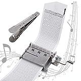 30ノート 手回し DIY 音楽 創作オルゴール機械 ムーブメント1個 + 作曲用楽譜カード 10枚