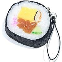 食品サンプルストラップ 食べちゃいそうな巻き寿司 042TS