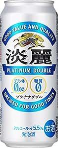 キリン 淡麗プラチナダブル 6缶パック 500ml×24本