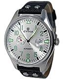 CYMA [シーマ] 自動巻き 腕時計 CS-1001-SV シルバー/ブラック メンズ [並行輸入品]