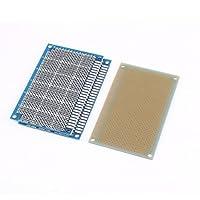 DealMux 3枚片面PCBプリント基板試作ブレッドボード5x8cm