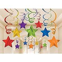 Rainbow Foil Shooting Stars Swirls Mega Pack