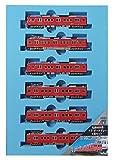 マイクロエース Nゲージ 名鉄6000系・ドア・ダークグレー 6両セット A8352 鉄道模型 電車