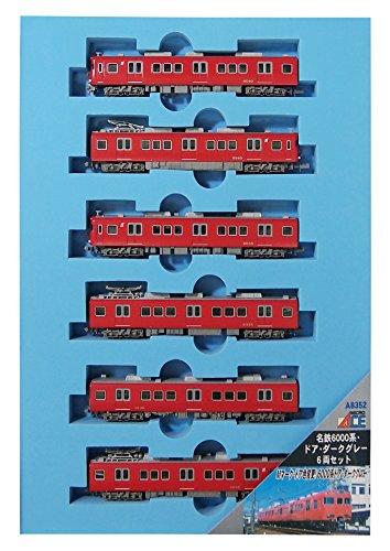 マイクロエース Nゲージ 名鉄6000系・ドア・ダークグレー 6両セット A8352 鉄道模型 電車の詳細を見る