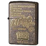 ZIPPO(ジッポー) ライター ゴールド ジッポロゴ エッチング バレル 2BB-ZLOGO1932