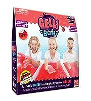 Zimpli Kids Gelli Baff-2 Use Bath Gel Toy Red 600g [並行輸入品]