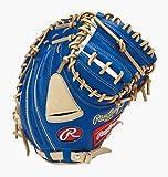 ローリングス(Rawlings) 野球用 軟式用 HYPER TECH COLOR GOLD ハイパーテック カラーゴールド[キャッチャーミット]33インチ GRXFHTC2AF ロイヤル/キャメル 右投用