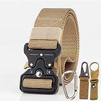 BEESCLOVER 3.8cm Men Tactical Belt Army Fans Outdoor Training Belt