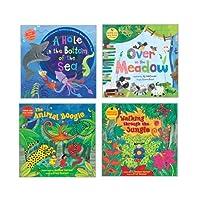 Becker's Exclusive Kits 868269K Rhyming Stories Book & CD Set (Pack of 4) [並行輸入品]
