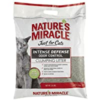 Nature's Miracle Intense Defense Clumping Litter, 20-Pound (P-5367) by Nature's Miracle