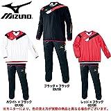 MIZUNO(ミズノ) モレリア ピステ 上下セット P2JE4521/P2JF4521 メンズ MORELIA サッカー フットボール フットサル ウインドブレーカー (O, ブラック×ブラック(09/09))