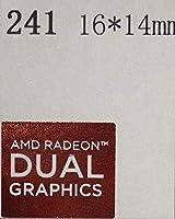 ■【AMD RADEON DUAL】エンブレムシール 16*14mm