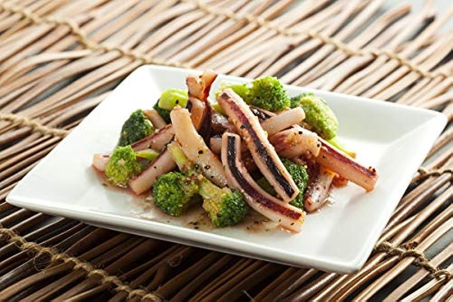 チューリップ米国使用法石川県いか釣生産直販協同組合 レンジで簡単 能登産いかとブロッコリーのレモンペッパー炒め 102g