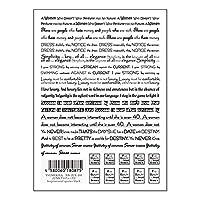 TSUMEKIRA(ツメキラ) ネイルシール JUNXプロデュース2 Inspirational quotes black NN-JUX-103 1枚
