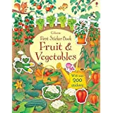 First Sticker Book Fruit And Vegetables