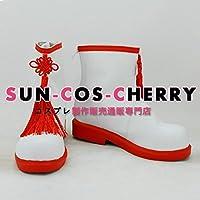 【サイズ選択可】コスプレ靴 ブーツ K-1615 カードキャプターさくら 木之本桜 きのもとさくら 男性25CM