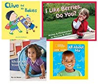 Becker's School Supplies All About Me Board Book Set [並行輸入品]