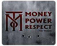 Scarfaceマウスパッド–お金、電源、Respect、トニー・モンタナ( 9x 7インチ