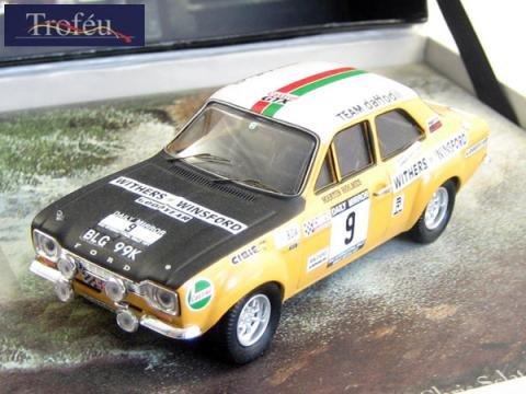 トロフュー 1/43 フォード エスコート マーク1 英ラリー 優勝 1971