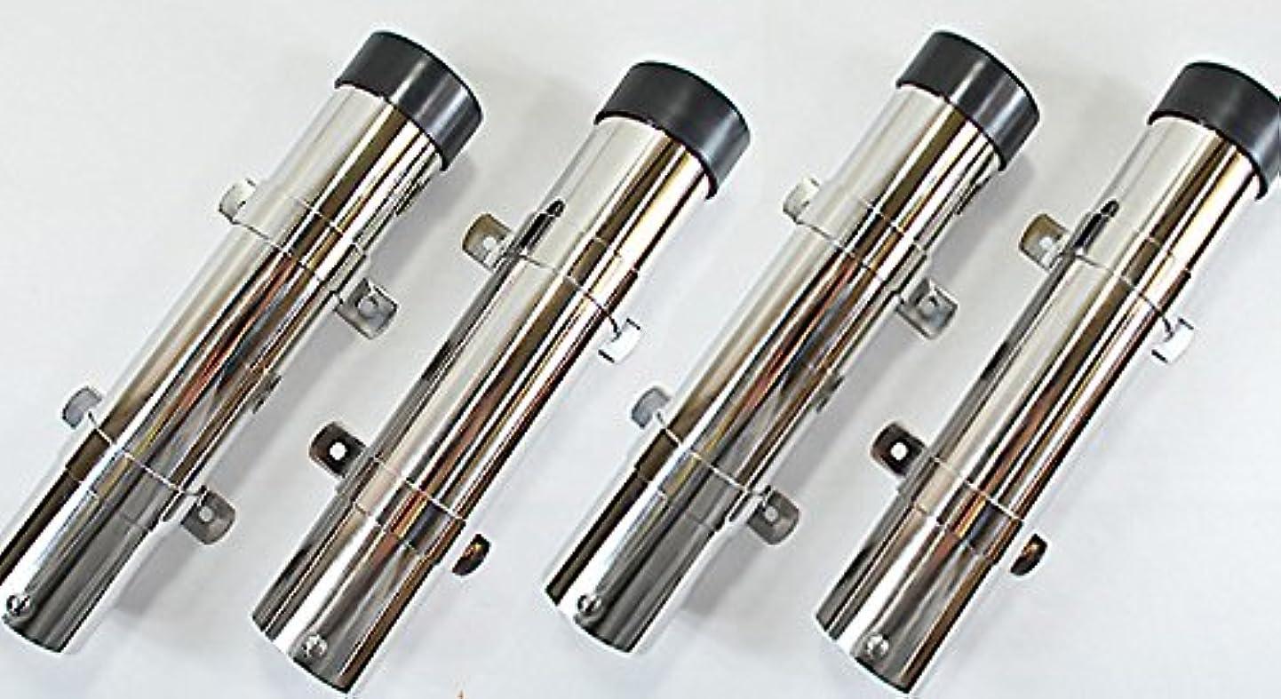 ほんの分離するリファイン【4本セット】SUS316 シングルロッドホルダー サイド取付型B ロッドホルダー5
