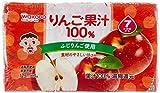 アサヒ りんご果汁 100%3本