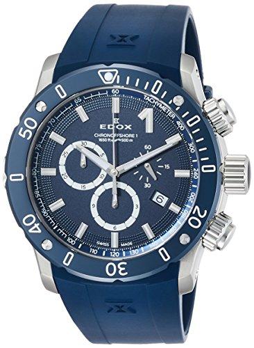 [エドックス]EDOX 腕時計 クロノオフショア1 クロノグラフ 10221-3BU3-BUIN3 メンズ 【正規輸入品】