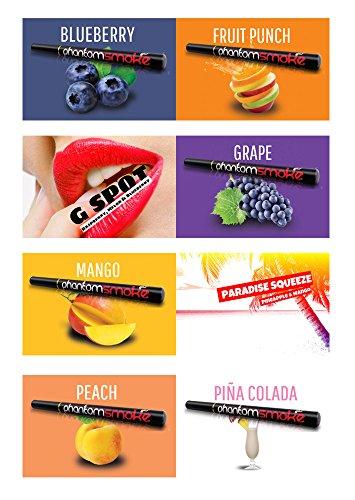 簡単!!充電不要! PHANTOM SMOKE E-Hookah - ファントム・スモーク 電子タバコ フレーバー (16種) フルーツ・パンチ A・YELLコーポレーション
