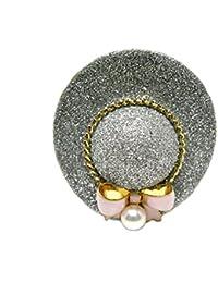 イソワパール アコヤ真珠 ブローチ 5.5-6mm ホワイトピンク 真鍮 帽子 64742 pearl