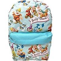 "Disney Princess Snow White Seven Dwarfs Allover Print 16"" Backpack"