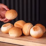 【ミニ】ハンバーガー用パン 冷凍ミニバンズ(8個)  可愛い手のひらサイズの小さいハンバーガーが作れます♪ 【販売元:The Meat Guy(ザ・ミートガイ)】