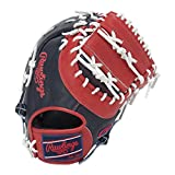 Rawlings(ローリングス) 軟式用HOH カラーシンクパッチ Japan Limited Order Quality [ファースト用] GR8HHS3ACD ネイビー/レッド [サイズ 11] [12 1/2inch] LH(Right hand throw)※右投用
