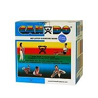 CanDo? Latex Free Exercise Band - 100 yard (2 x 50 yard rolls) - Black- x-heavy