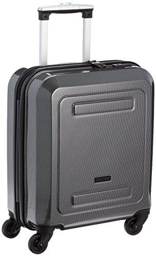 [シフレ] siffler スーツケース グリーンワークス 22L 2.4kg コインロッカーサイズ 100席未満対応 B5891T-39 カーボンブラック (カーボンブラック)