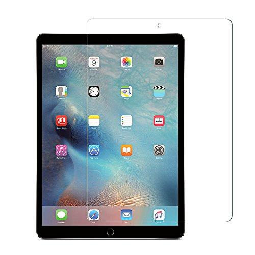 Nimaso iPad Pro 10.5 専用 フィルム 【 日本製素材旭硝子製 】 強化ガラス 液晶保護フィルム 高鮮明 防爆裂 スクラッチ防止 気泡ゼロ 指紋防止対応 硬度9H (iPad Pro 10.5, 透明)