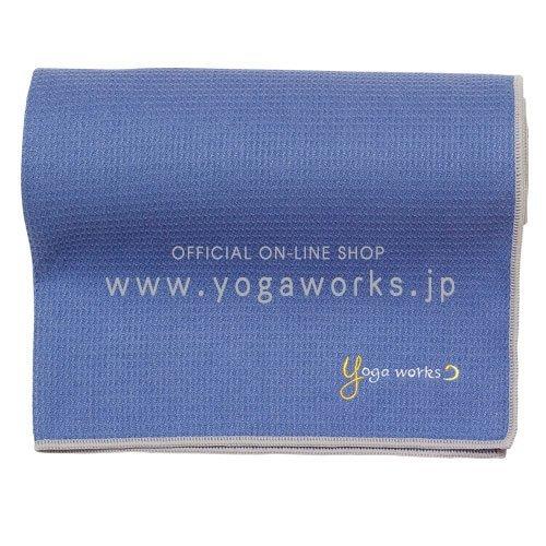 ヨガワークス(Yogaworks) ワッフルヨガラグ グレイ...