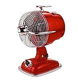 ハイスピードデスクファン(扇風機) Cherry Red(チェリーレッド) 3段スピード調節 JFT-15