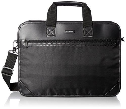 [プロナード] ビジネスバッグ ACE製 アーネスト 42cm エキスパンダブル 26407 01 ブラック